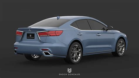 2020 Mitsubishi Galant by 2020 Mitsubishi Galant Is Unfortunately Only A Render