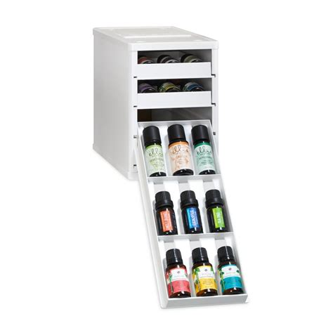 essential oil drawer organizer youcopia bottlestack 36 bottle essential oil organizer