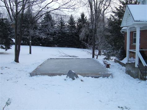 how to build a backyard ice rink family go round diy backyard ice rink