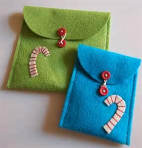 Free holiday project felt envelopes 171 lark crafts