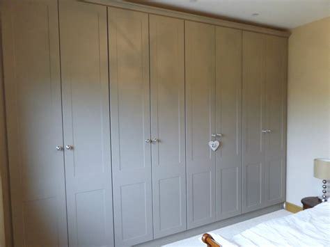 gray wardrobe fitted wardrobe co kildare newhaven kitchens bedrooms