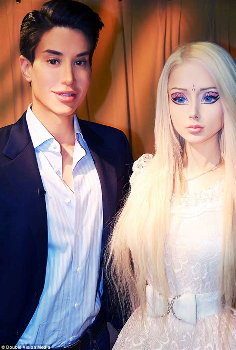 valeria lukyanova and ken rift between ken and justin jedlica and