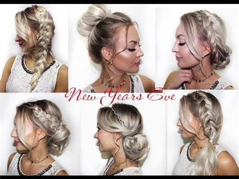 cute  years eve hairstyles suesse silvester party