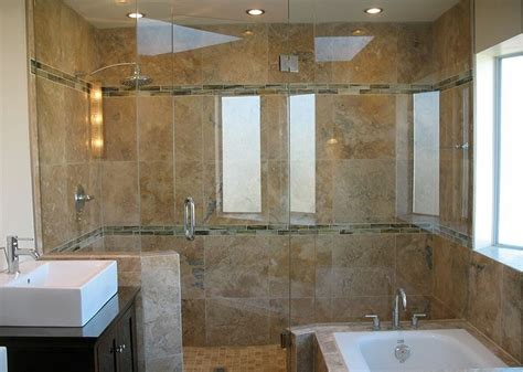 Tile Patterns For Bathrooms salle de bain travertin la beaut 233 de la pierre de tivoli