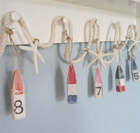 nautical decoration nautical decor buoy starfish garland beach decor
