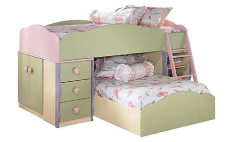 ashley furniture girl beds pastel loft bed from ashley furniture for the girls