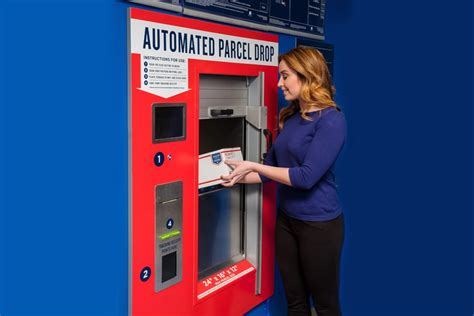 Post Office Drop by Usps Automated Parcel Drops Ease Shipping Returns 21st