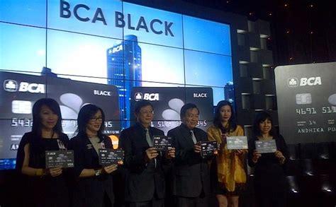bca visa black kartu kredit bca black images