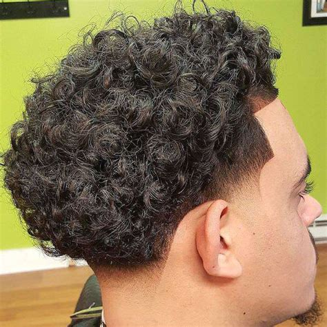Curly Fade Hairstyle by 22 Curly Fade Haircut Designs Hairstyles Design Trends