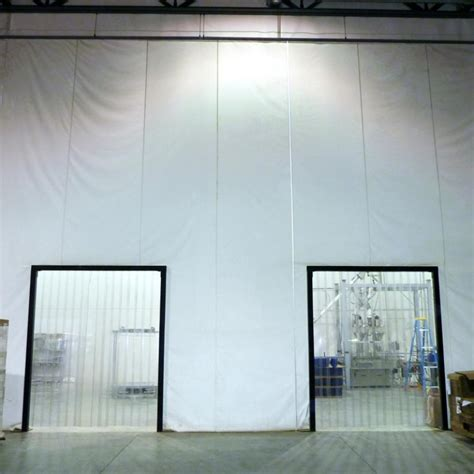 freezer curtains insulated insulated curtain walls w e carlson corporation