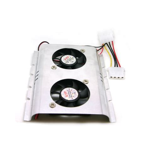 Sale Cooler Pendingin Hdd 3 5 Pc Komputer Dual Fan hdd at 52c when gpu intensive are those
