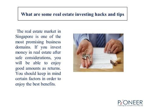Investing Hacks by What Are Some Real Estate Investing Hacks And Tips