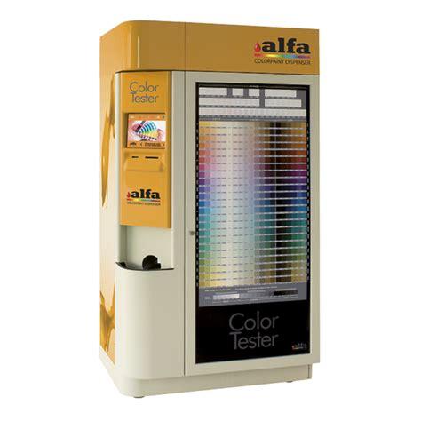 color tester alfa color tester