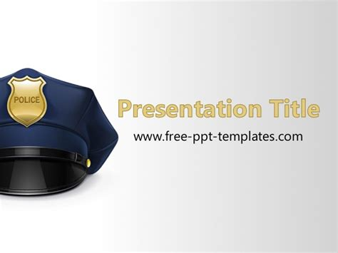 enforcement powerpoint templates free ppt template