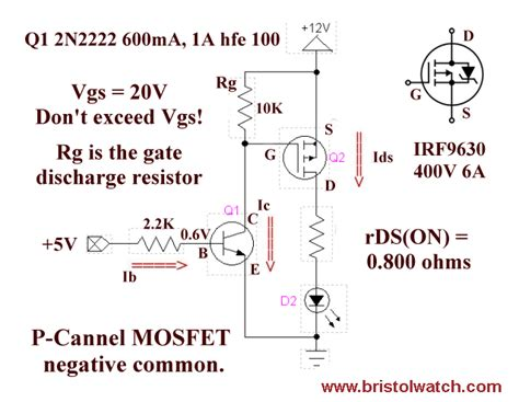 bipolar transistor mosfet driver bi polar mosfet transistor driver upc interfacing