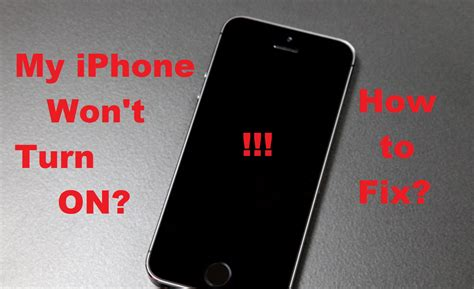 iphone 7 or plus won t turn on how to fix