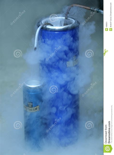 Blue From O2 Less Treacherous Than Black by Liquid Oxygen Stock Image Image Of Foggy Steam