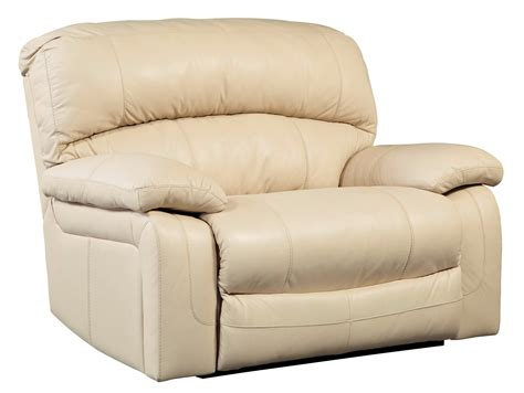seat recliner damacio cream zero wall wide seat recliner from ashley
