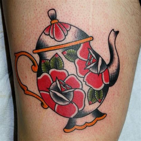 teapot tattoo designs 27 best images about teapot tattoos on image