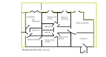 floor plan scale camber accommodation 187 the warrens floor plan not to scale
