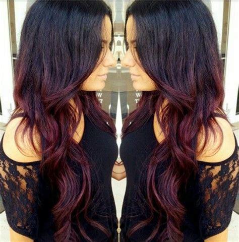 fotos de mechas californianas en rojo californianas rojas peinados cabello maquillaje