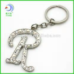 beautiful bling alphabet letter r keychains buy