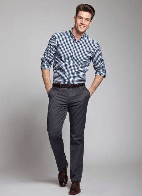 Semi Casual by Grey Stripped Shirt For A Semi Casual Look