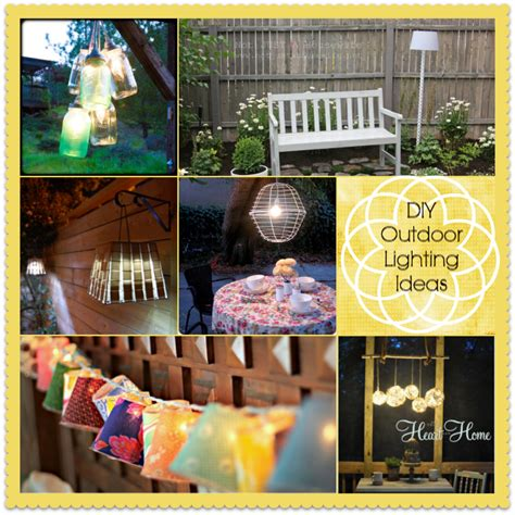 diy backyard lighting ideas diy outdoor party lighting ideas www pixshark com