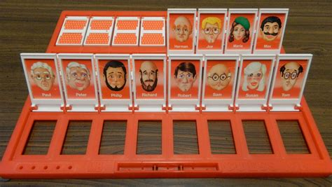 Guess Who by How To Win Guess Who Within Six Turns Geeky Hobbies