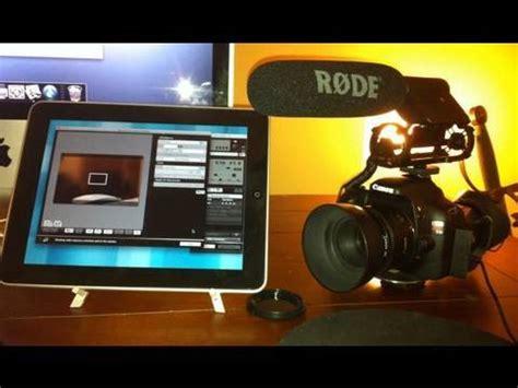 dslr ipad monitor & control youtube