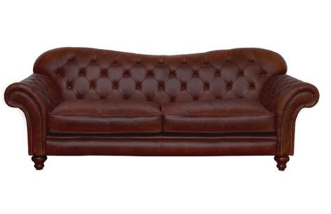Large Chesterfield Sofa Crompton Large Chesterfield Sofa Leather Sofas
