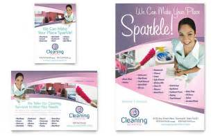 companies that clean out homes house cleaning services flyer ad template word