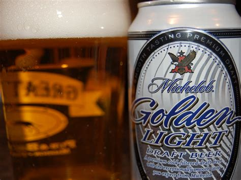 michelob golden light abv michelob golden draft light craft reviews and pictures