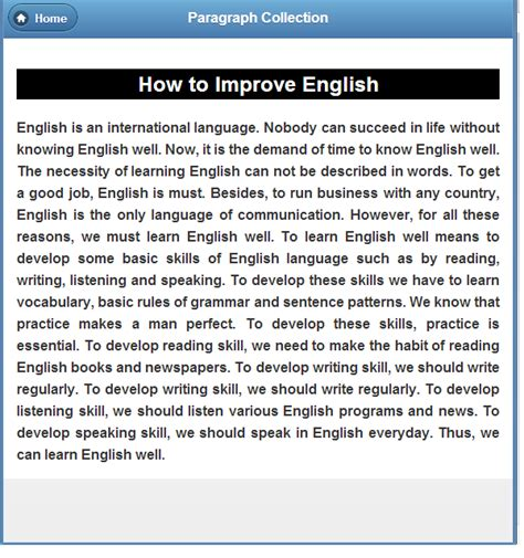 How To Learn Essay by Paragraph Collection Android Apps On Play