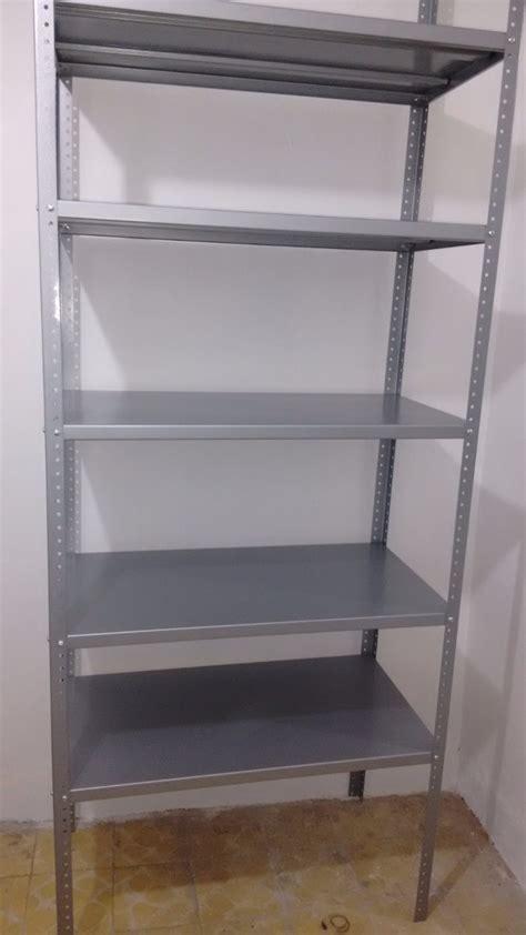 estante y anaquel anaquel estante metalico 5 niveles estanteria metalica