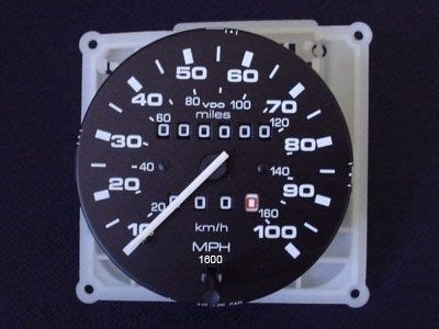 speedometer assembly syncro gowesty
