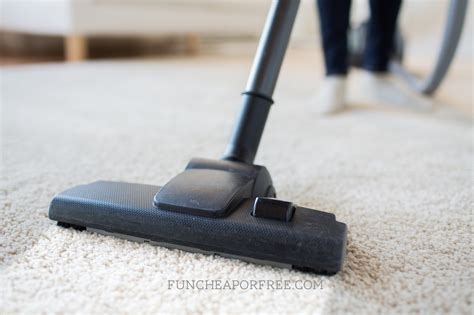 how to vacuum carpet keep your house clean with 1 chore per day free