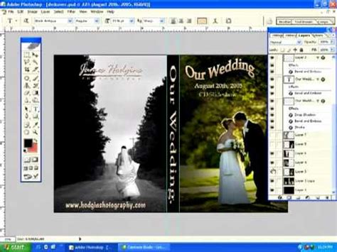 membuat watermark di photoshop cs5 cara membuat cover dvd photoshop cs5 youtube