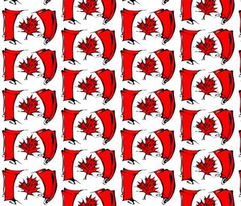 upholstery material canada inkblot canadian flag art rat spoonflower
