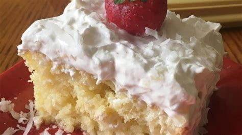 pina coconut cake recipe pina colada coconut rum cake recipe allrecipes com