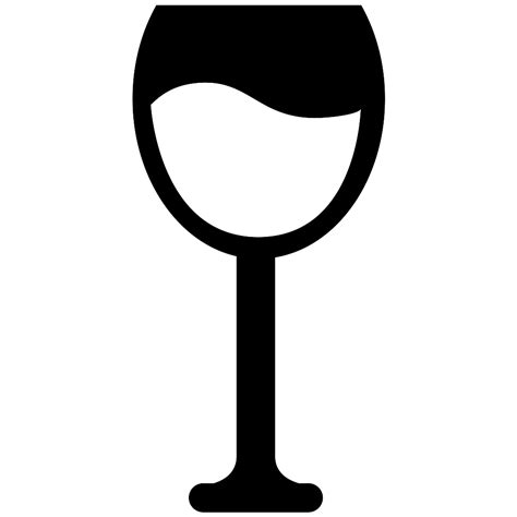 glass svg wine glass svg png icon free 57908