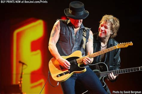 Richie In Rehab For Two Issues by Richie Sambora Leaves Bon Jovi During Tour