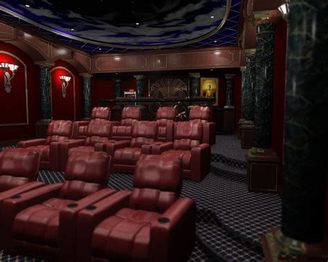 Home Theater room for 3d home theater studio design gallery