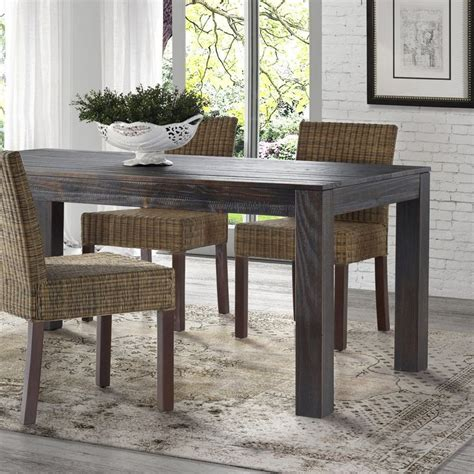 solid wood dining room table 1000 ideas about dining table bench on table