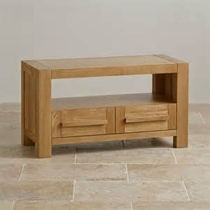 fresco 2 drawer tv cabinet in solid oak oak furniture land