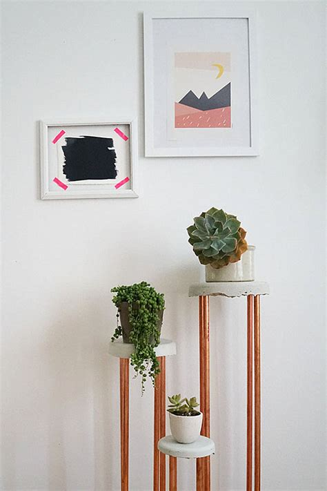 How To Make A Plant Holder - diy build plant stand ideas plans free
