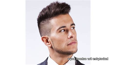 hairstyles for school for guys cool hairstyles for school guys hairstyles