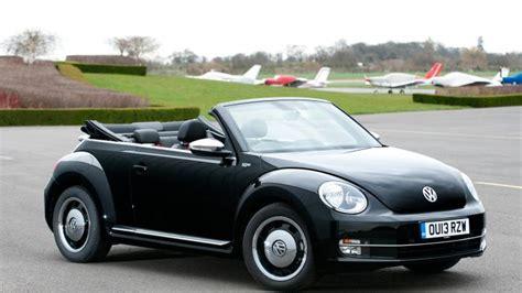 black volkswagen beetle convertible volkswagen beetle cabriolet review carbuyer