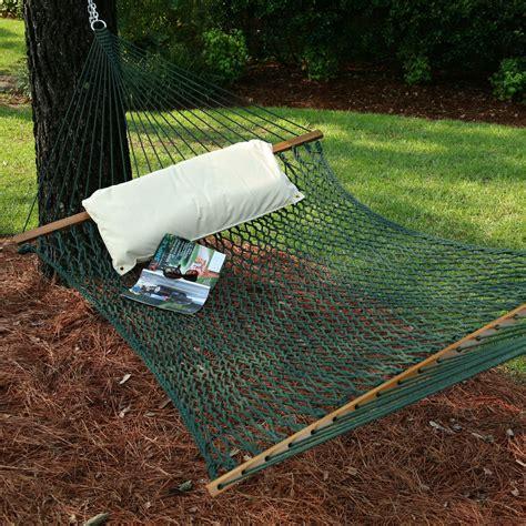 large original duracord rope hammock in green dfohome