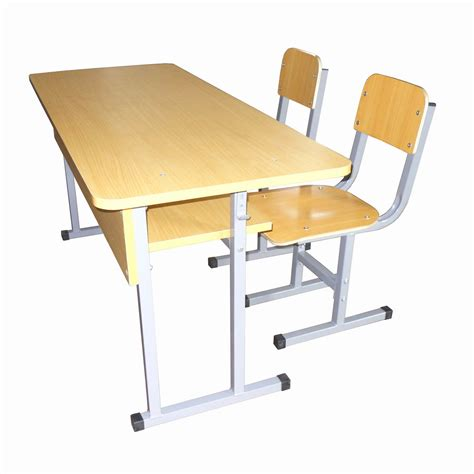 China Double School Desk And Chair Set Mxzy 264 China Desk And Chair Sets